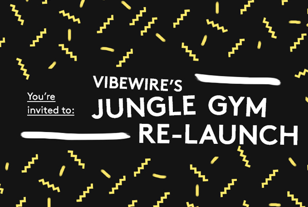 Jungle Gym Invite Banner